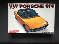 Rare vintage Bandai 1/20 scale VW Porsche 914 plastic model kit