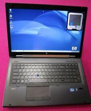 HP 8760w elitebook laptop I5-2540m 2.6-3.3Ghz 8GB NEW 500GB hdd NVIDIA M1000M