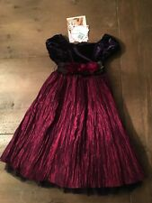 Sweet Heart Rose Girls Dress size 5 NWT Christmas Holiday New Years Party