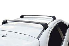 Aerodynamic Roof Rack Cross Bar for BMW 3 Series F30 12-18 Black Flush End