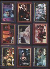 STAR TREK 25th 1991 IMPEL #161-310 COMPLETE BASE SET NEXT GENERATION  #ns16-383