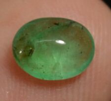 0.90 Ct 100% Natural Green Emerald AGSL Certified Zambian Untreated Superb Gem
