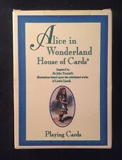 ALICE IN WONDERLAND HIUSE IF CARDS Tarot Cards 54 Cards MAGIC US Games