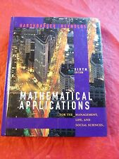 Mathematical Applications for the Management, Life, and Social Sciences by...