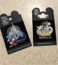 Disney World 2004 And 2009 Mickey And Tinker Bell Pins