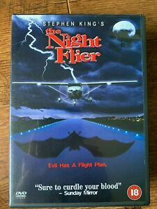 The Night Flier DVD 1997 Stephen King Cult Horror Classic Cast Miguel Ferrer
