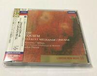 Faure CD Requiem/Pelleas Et Melisande/Pavane Dutoit Kiri Te Kanawa Japan Obi