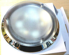 12V LED CEILING LIGHT SWITCHED CHROME EFFECT MOTORHOME CARAVAN