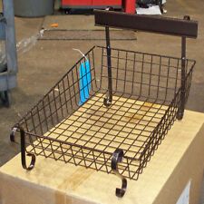 Tapered Scroll Bakery Merchandise Display Wire Grid Basket Rack Stock No. 76131