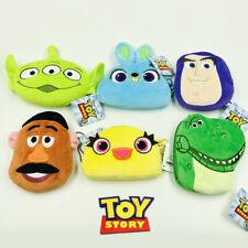 Toy story aliens fuzzy plush coin bag zip handbag bag ornament wallet bags new