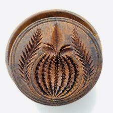 John Bullard Antique Butter Mold Mould Pineapple Design Patented April 17, 1866