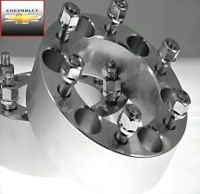 4 Pc CHEVY Silverado 1500 (HUB CENTRIC) Wheel Spacers Adapters 2.00 Inch 6550E78