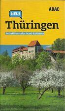 Reiseführer Thüringen Hainich Wartburg +Maxi-Faltkarte wie neu 2019/20 ADAC Plus