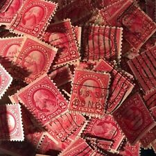 ~~VINTAGE TREASURES~~ LOT B -U.S. WASHINGTON 2-cent STAMP -**Free Shipping in US