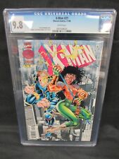 X-Man #21 (1996) Terry Kavanagh Story CGC 9.8 White Pages E385