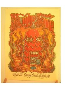 High On Fire Poster Signed & Numbered By Artist Michael Michael Motorcycle 2006