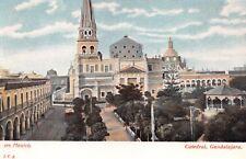 GUADALAJARA JALISCO MEXICO CATHEDRAL~J.C.S. #577 POSTCARD 1900s