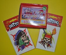 2 Tatouages temporaires Tattoos + Boîte de pétards, feu d'artifice Lady Cracker