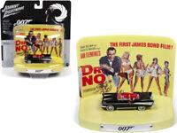 Johnny Lightning 1:64 James Bond 007 Dr. NO 1957 Chevrolet Bel Air Model JLSP084