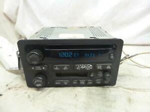 00-05 Chevrolet Malibu Cavalier Venture Impala Radio CD Cassette 10335226 XOX77