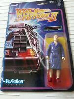 """SUPER7 Back to the Future 2 BIFF Tannen ReAction 3.75"""" Action Figure"""