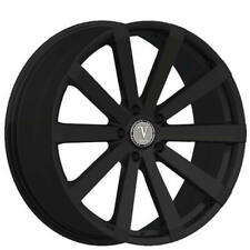 "4ea 22"" Velocity Wheels VW12 Black Rims (S5)"