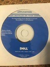 Dell Application CD Reinstalling Sonic MyDVD 5.0 Limited Edition & Rec.now 6.5