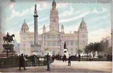 Municipal Building & George Square, GLASGOW, Lanarkshire