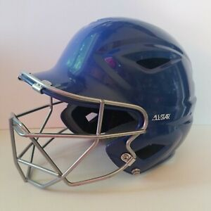"All-Star Baseball Helmet With Face Guard 6.50""-7.75"" BH3000"