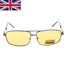 beea51efe6 Night Vision Yellow Lens Driving UV 400 Eyewear Glasses Polarized Sunglasses