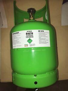 7 Liter 5 kg  R407h, Ersatz für R404a,  Mehrweg Eigentumsflasche
