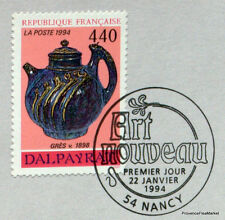 DALPAYRAT ART NOUVEAU  FRANCE Yt 2857 OBLITERATION 1er JOUR  NOTICE PHILATELIQUE