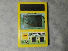 CASIO CG-42 DEEP JUNGLE - GAME & WATCH HANDHELD CONSOLE LCD SCREEN SOLAR ENERGY