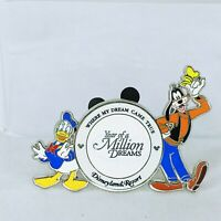 WDW - Year of a Million Dreams - Goofy and Donald Duck ONLY Disney Pin 59583
