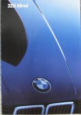 Prospekt BMW 3er E30 1/85 325i Allrad