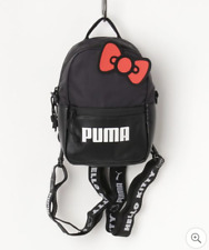 PUMA x HELLO KITTY 2019 Women's Mini Backpack 3L Ltd Silver Black SANRIO NEW