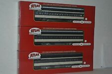 3 Atlas Canadian National CN Paired Window Coach Ho Scale