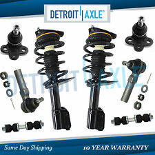 New 8pc Complete Front Quick Strut & Spring Suspension Kit for Chevy Pontiac