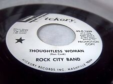 ROCK CITY BAND-THOUGHTLESS WOMAN/GIRL WHO LOVED JACK DANIELS-K-1639 NEAR MINT 45