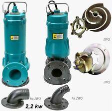2,2 KW Fäkalienpumpe Tauchpumpe Schmutzwasserpumpe  Schneidmesser 600l/min PROFI
