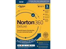 Norton 360 Deluxe 2020 5-Devices + 50GB Of Secure PC Cloud Storage PC/MAC/Mobile
