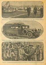 COSTES & LE BRIX / AUTOBUS DAMAS-BAGDAD / SCOUT DANMARK ILLUSTRATION 1928