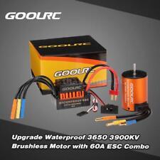 GoolRC Upgrade-Wasserdichte 3650 3900KV Brushless Motor mit 60A ESC Combo E3K9