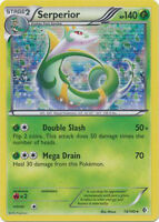 Serperior Holo Rare Pokemon Card BW Boundaries Crossed 13/149