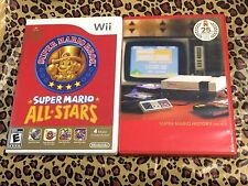 ** SUPER MARIO ALL-STARS (Nintendo Wii, 2010) Game and History Soundtrack