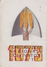 CONFEDERAZIONE NAZIONALE COLTIVATORI DIRETTI - TESSERA CAPOFAMIGLIA - 1973
