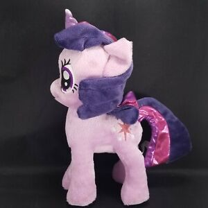 "My Little Pony Twilight Sparkle Unicorn Purple Plush Stuffed Animal Star 10"""