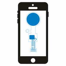 Apple iPhone 7 + Plus Fingerabdruck Sensor Home-Button Touch-ID Reparatur Löt