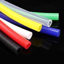 1 ~ 25mm alimentos grado Silicona Mangueras tubería flexible de alta temperatura rojo/amarillo/verde/azul