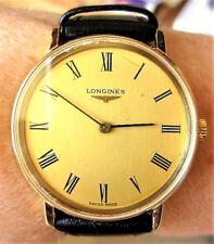 Superb Swiss 1970s Gents GP Longines Mechanical c.847.4 Watch Serviced Warranty